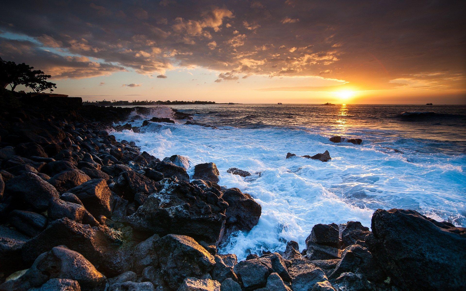 hawaii high resolution wallpapers widescreen Beach