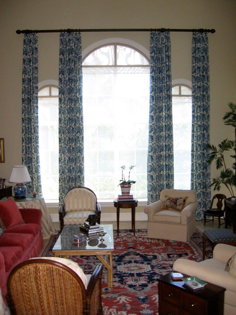 Window dressing ideas for arched windows  interesting place with curtains for arched windows  reputable loft
