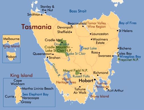 Map Of Australia King Island.Tasmania Beaches Among The Best In Australia In 2019 Tuchman