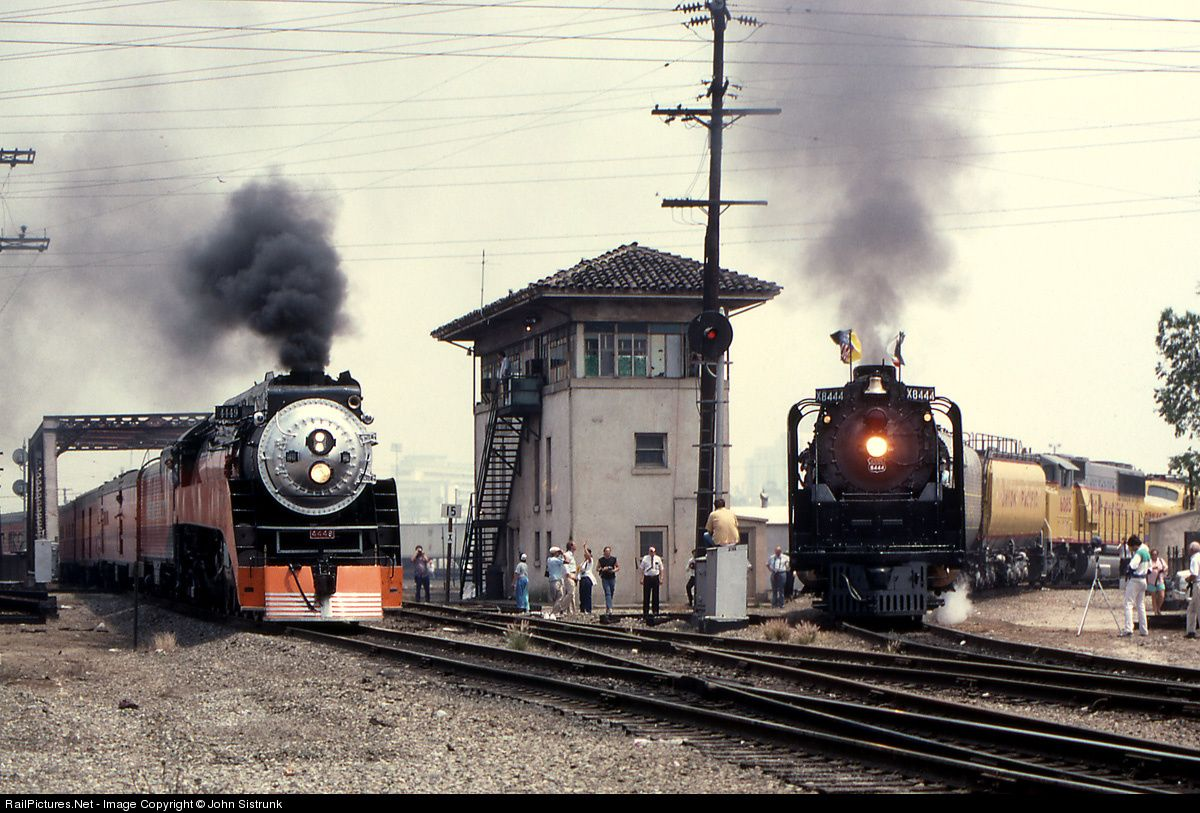RailPictures.Net Photo: SP 4449 Southern Pacific Railroad Steam 4-8-4 at Los Angeles, California by John Sistrunk