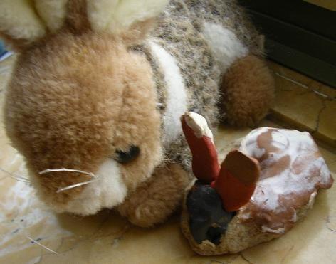 Kunstunterricht Grundschule Nicola Rother Versuch einer ästhetischen Forschung zum Thema Tier - mein Kuscheltier
