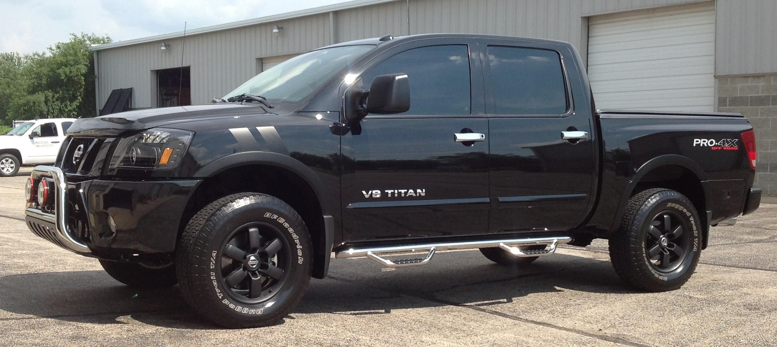 Image result for nissan titan pro 4x towing