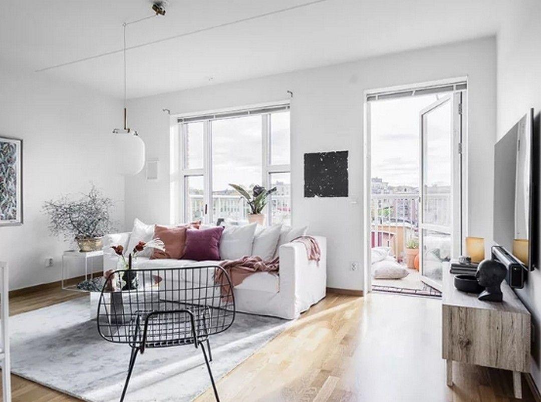 8 Minimalist Scandinavian Style Apartment Interior Design Ideas In 2020 Minimalist Bedroom Furniture Minimalist Interior Living Room Minimalist Home Decor