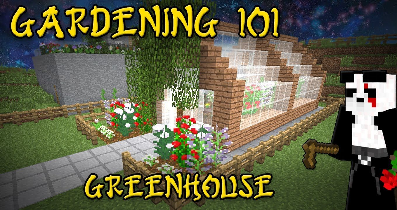 minecraft greenhouse ideas