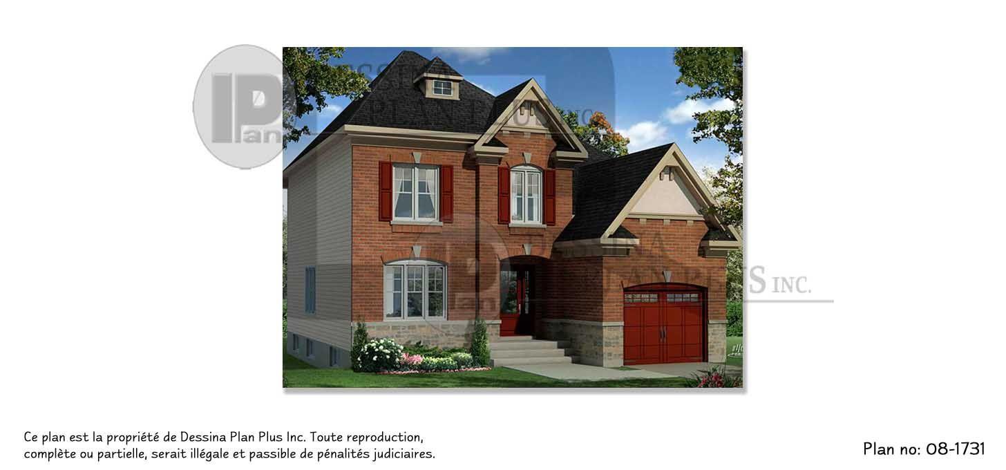 Plan de maison tages cottage de style anglais cette r sidence offre 4 chambres coucher - Chambre a coucher style anglais ...