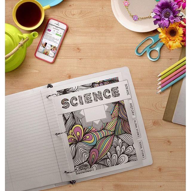 Printable Loose Leaf Paper Free Printable Back To School Coloring Dividers  School Colors .