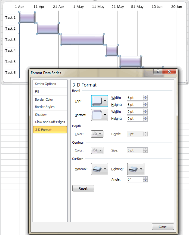 Design your excel gant chart in different ways it tips and design your excel gant chart in different ways ccuart Gallery