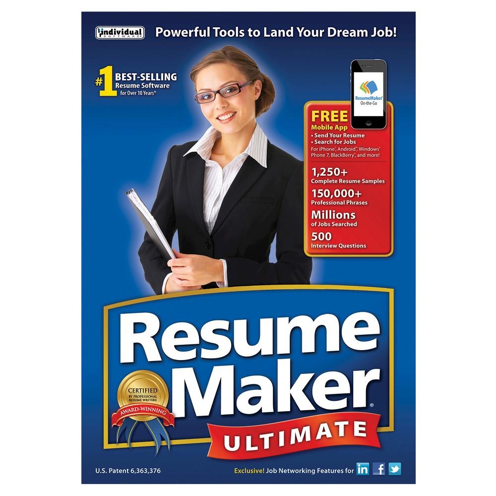 Resumemaker ultimate pc software office manager job