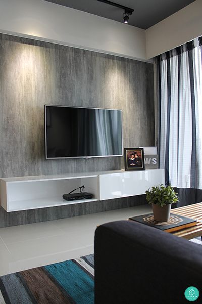 Tv Console With Feature Wall  Google Search  Living  Pinterest Stunning Living Room Tv Console Design Inspiration