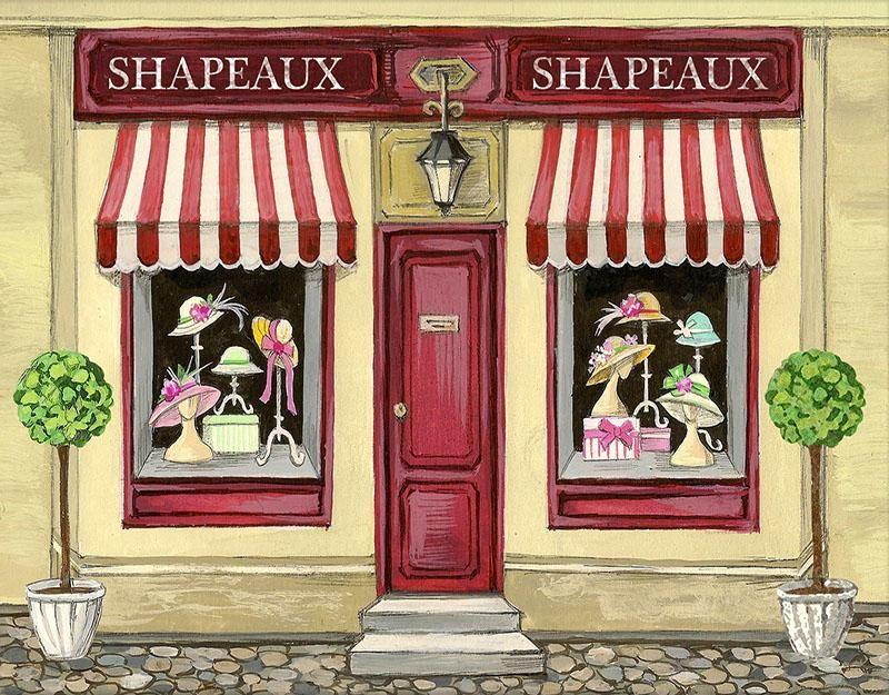 Store Background Facade Backdrop