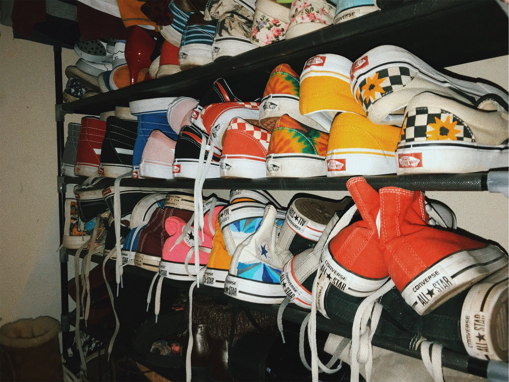 shoes converse vans collection vsco