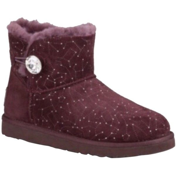 cc7005465a751 Pre-owned Ugg Australia Constellation Mini Bailey Button Sz 6 New... (