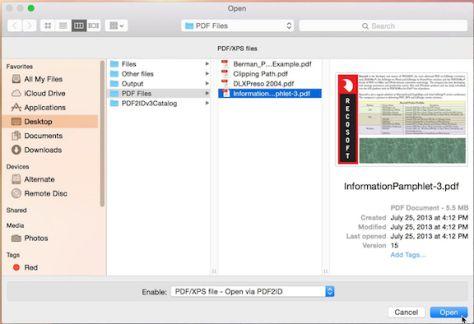 macOS -PDF2ID 4 6 | Mac OS X Software | Mac os, Adobe