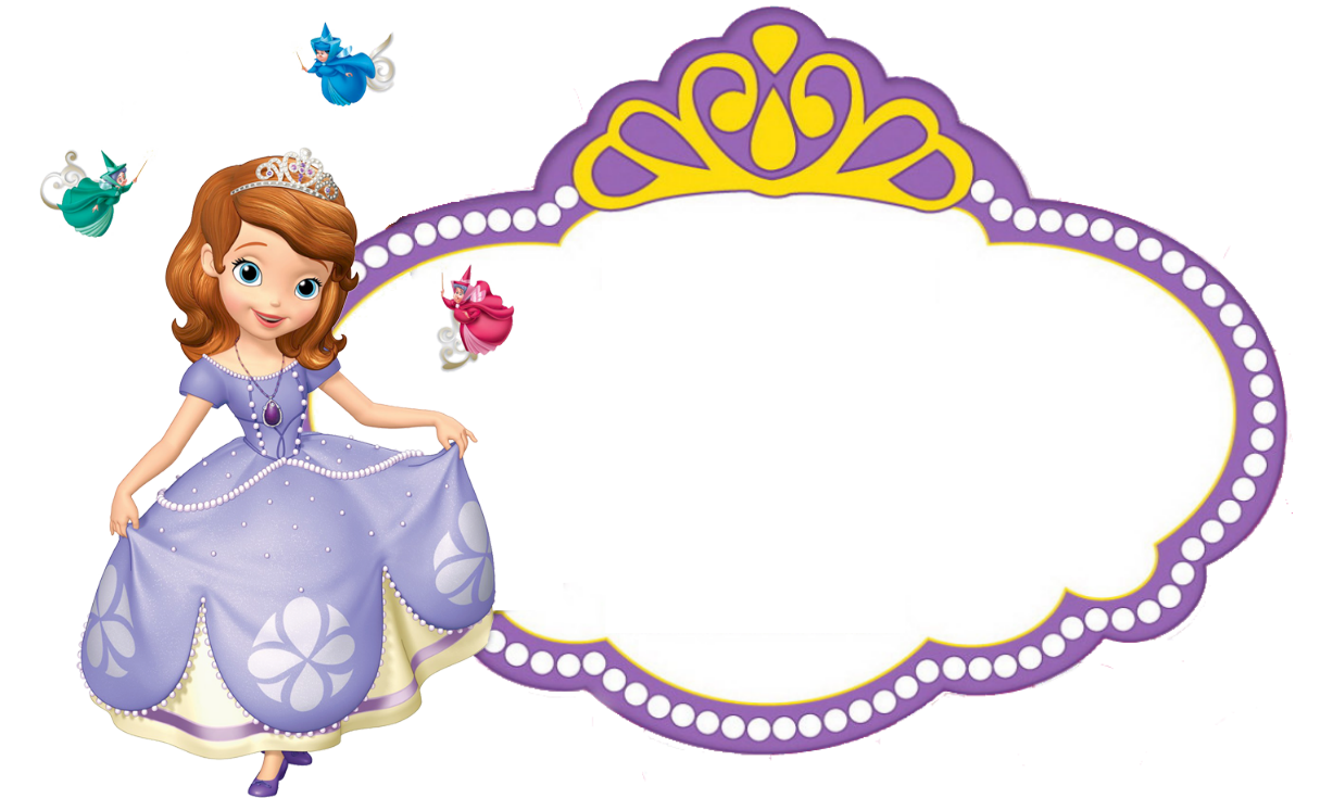sofia the first empty logo time to party pinterest