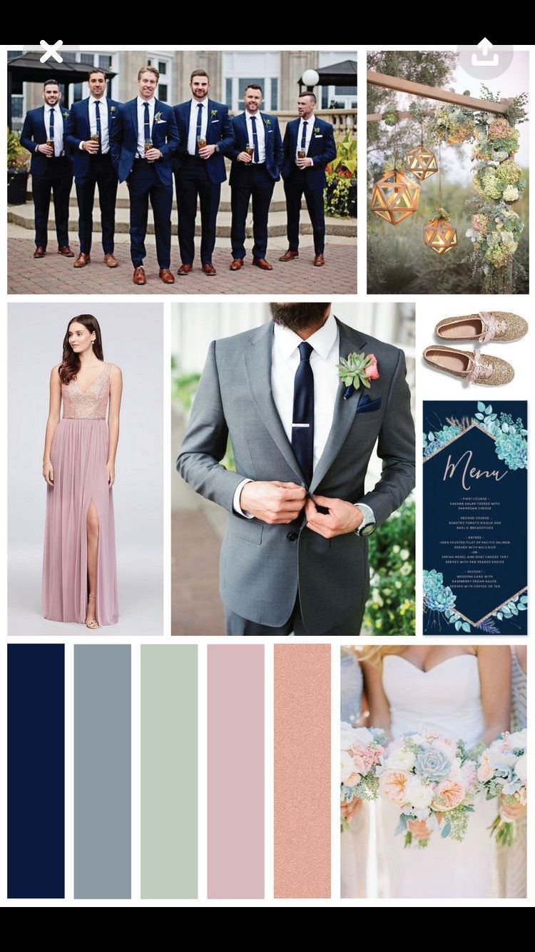 Shades Of Metallic And White Wedding Color Ideas And Wedding