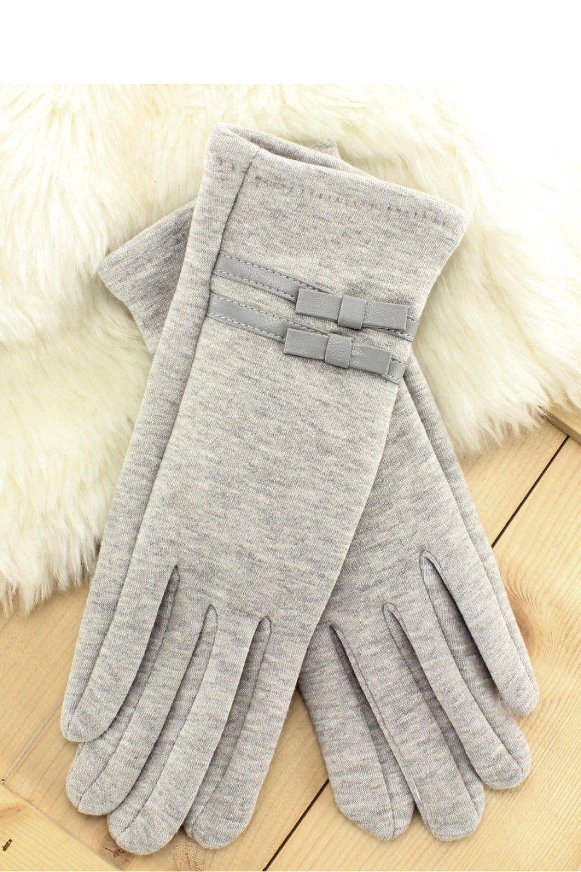 Gloves model 65736 Inello. Cotton 30 % Spandex 5 % Polyester 65 %       Size Lenght    L 23,5 cm   M 23 cm   S 22,5 cm   XL 23,5 cm   XXL 23,5 cm