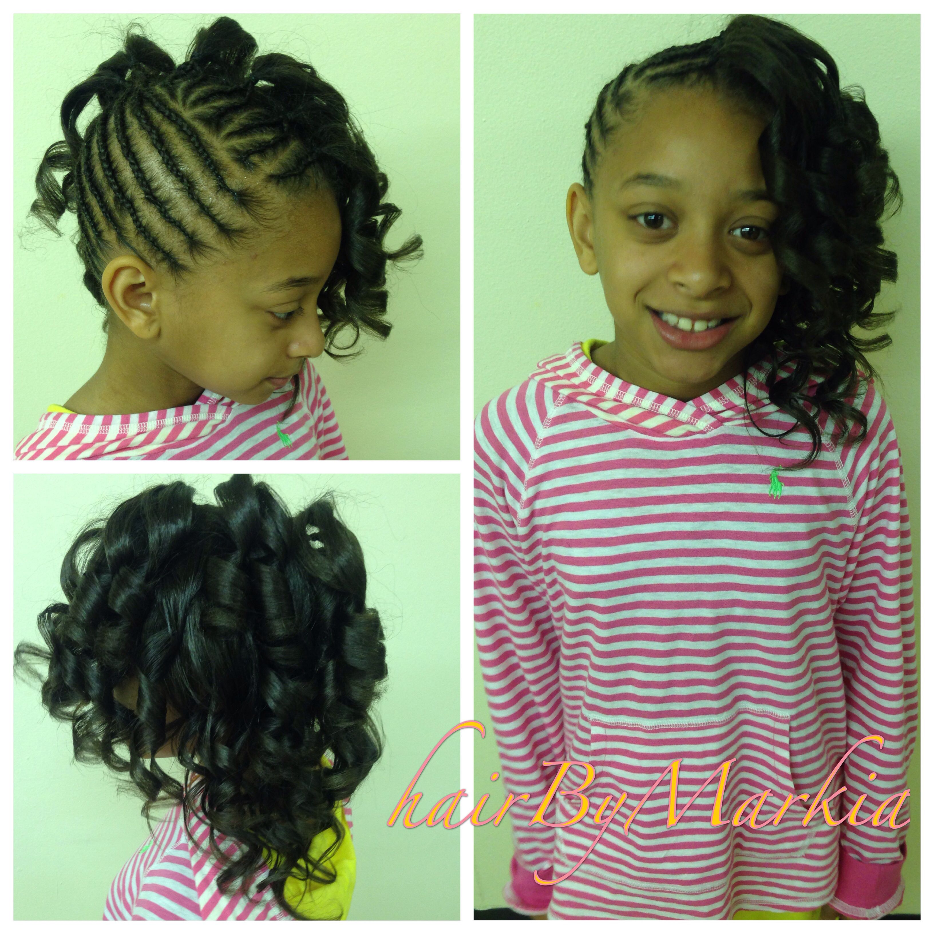 french braid mohawk & beads | kids hairstyles | pinterest | french