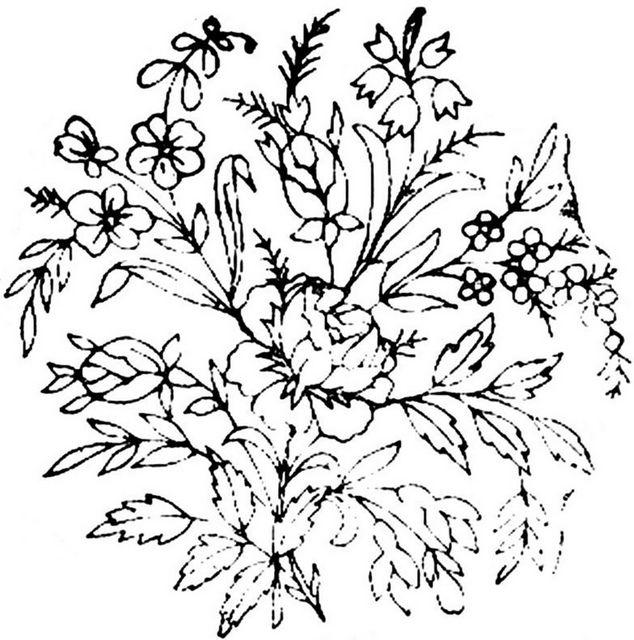 1886 Ingalls Rose Bouquet by jeninemd, via Flickr