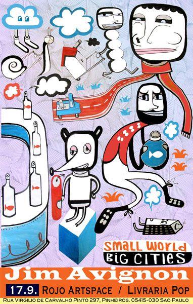 Neoangin German Artist Jim Avignon Pop Art Avignon Poster Art