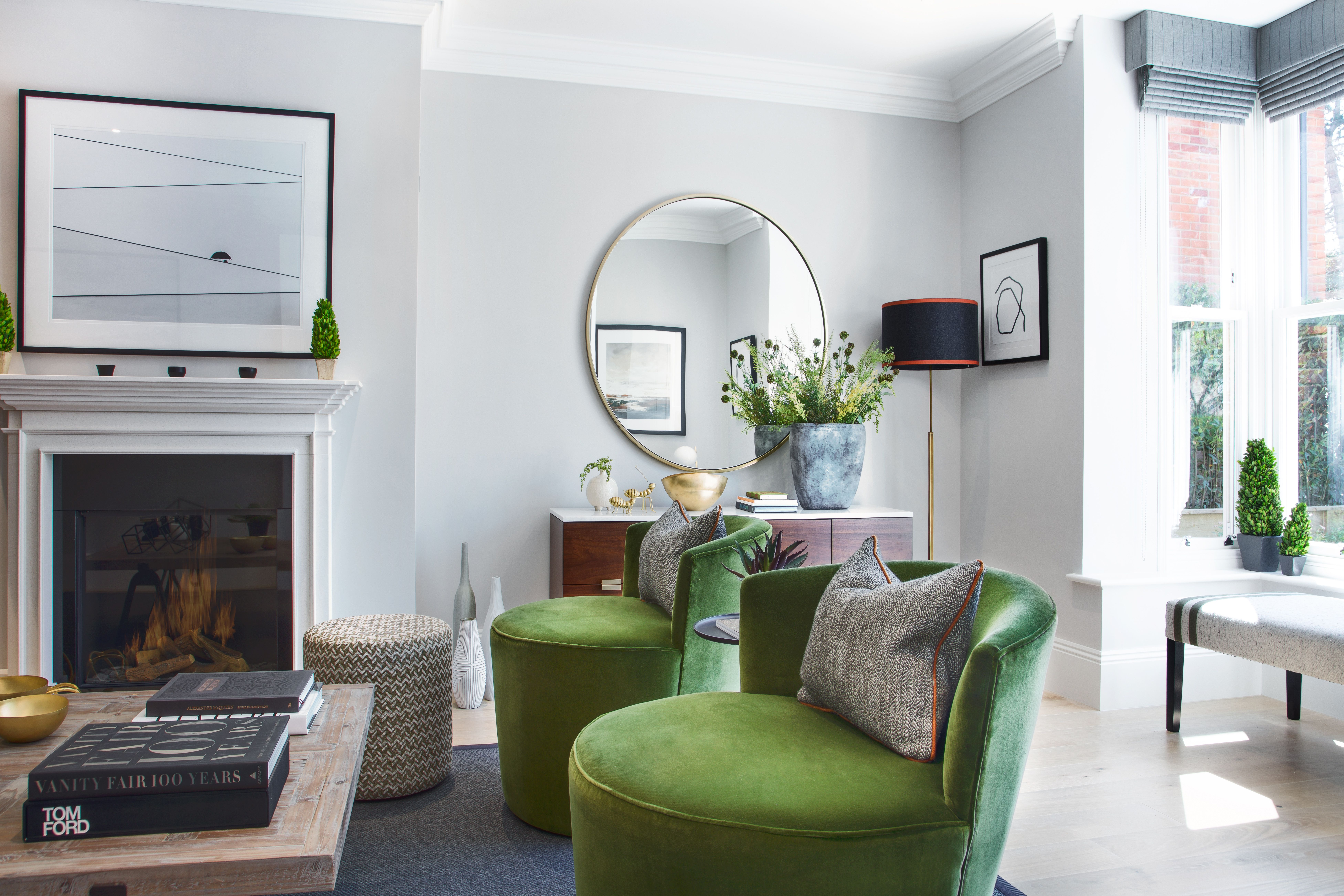 Green drawing room winchester hampshire studio hooton