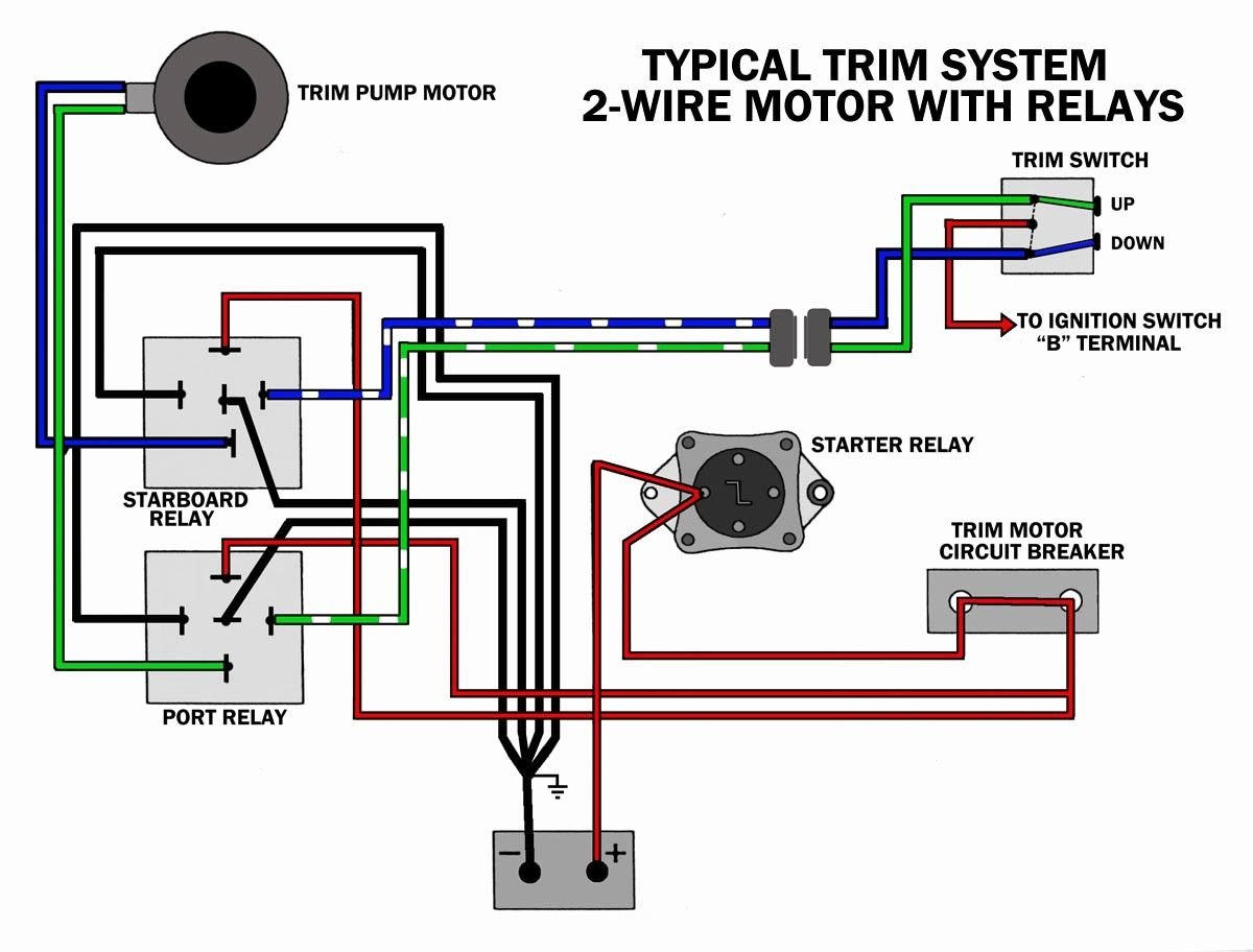 3 Wire Trim Motor Wiring Diagram Gallery Mercury Outboard Outboard Wire