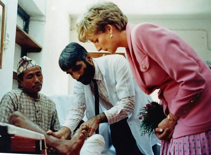 The Leprosy Mission England & Wales.   At Anandaban Hospital, Nepal, in 1993.