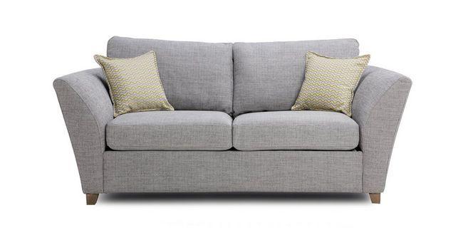 Burlington Large 2 Seater Formal Back Sofa Bed Dfs