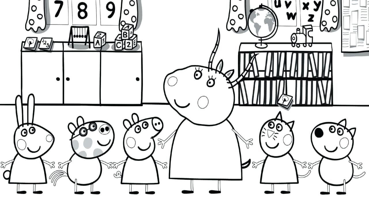 Peppa Pig Coloring Pages Inspirational Peppa Pig Coloring Pages Printable Lagunapaper Peppa Pig Coloring Pages Peppa Pig Colouring Coloring Books