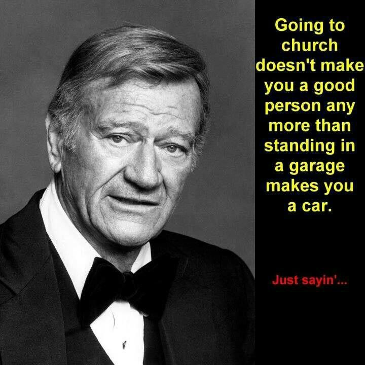 I Love This Quote It Speaks The Solemn Truth John Wayne Quotes Quotable Quotes John Wayne