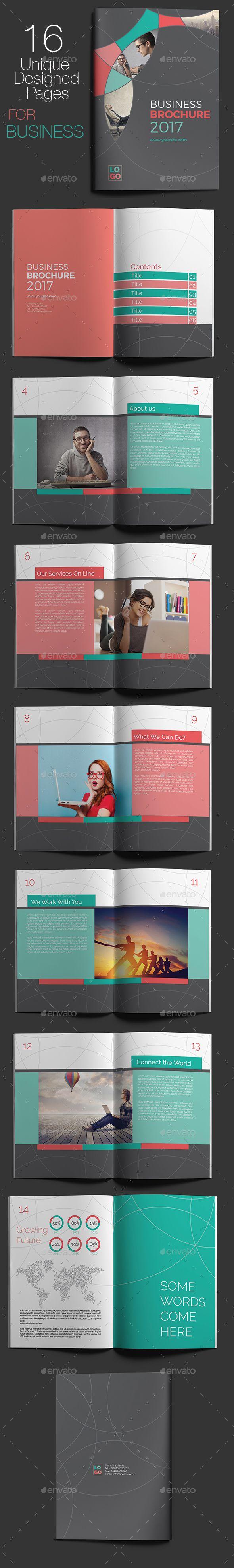 Corporate Business Brochure | Pinterest | Editorial de revista ...
