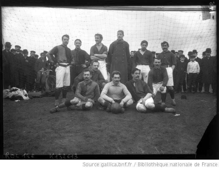 Association sportive française à Vincennes, 6 février 1908 [équipe de football]