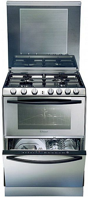I Think Just D Myself And Then Cried It S A Stove An Oven Dishwasher All In One Europeans Get The Awesome Stuff