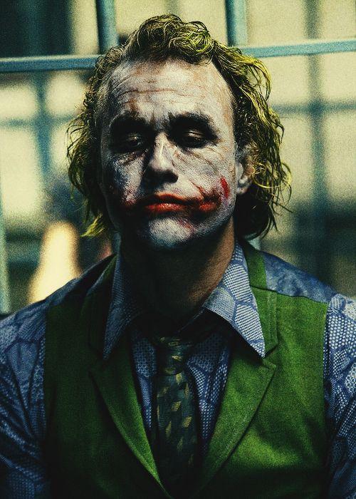 Heath Ledger Joker Con Immagini Joker Supereroi
