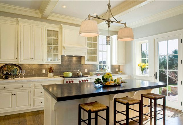 Backsplash And Lights Pennsylvania Farm House   Traditional   Kitchen    Philadelphia   Dewson Construction Company