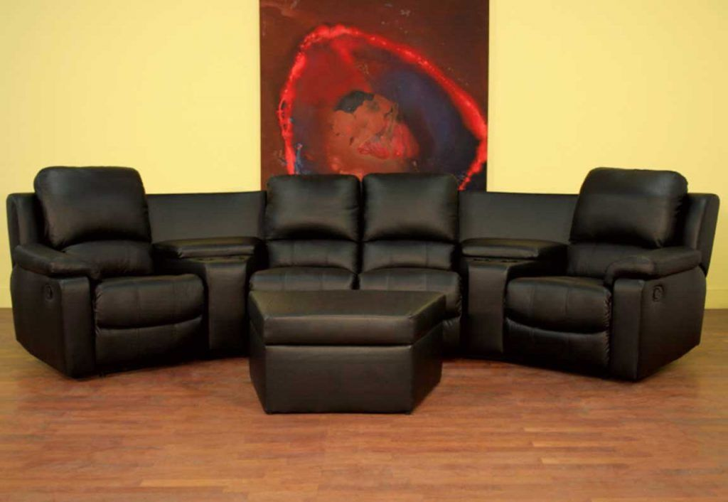 Home Theater Couch Seating With Curved
