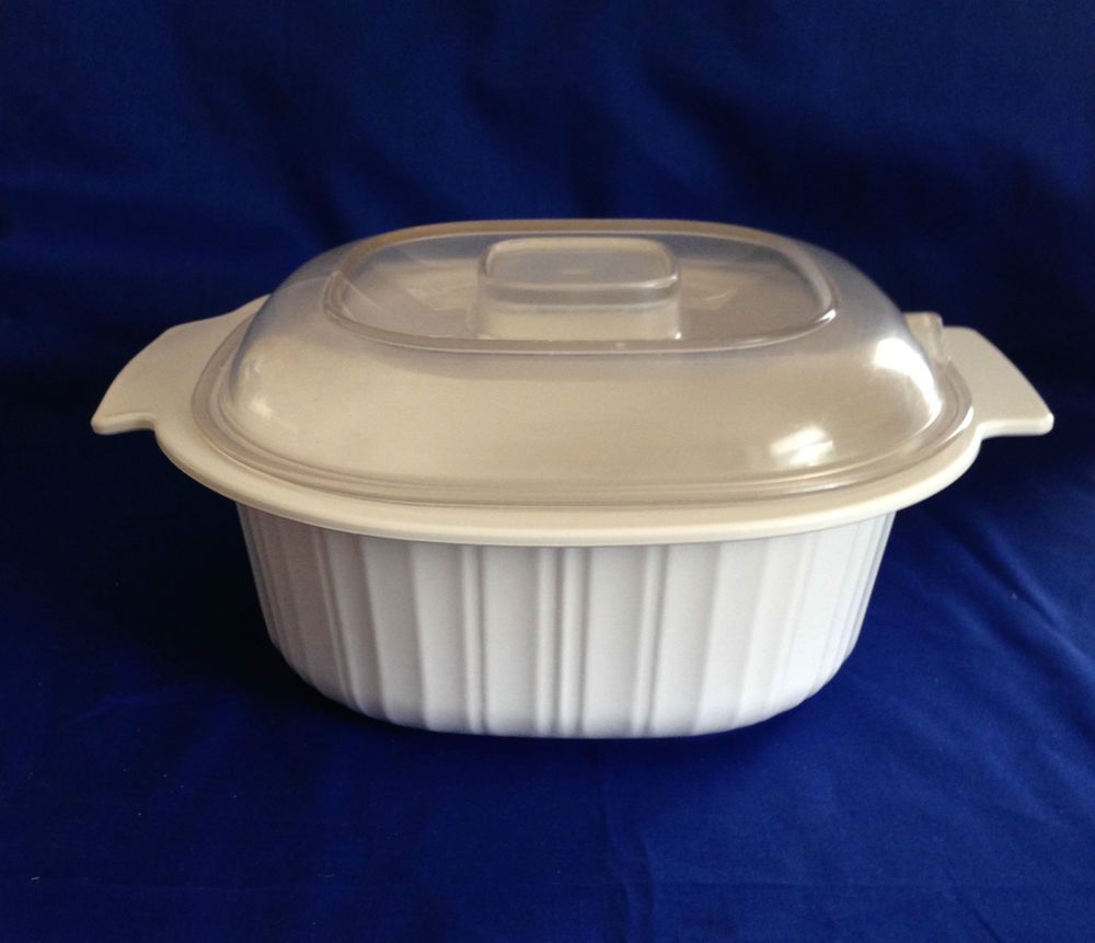 Rubbermaid Microwave Cookware 2 Quart Casserole #5152 with Lid ...