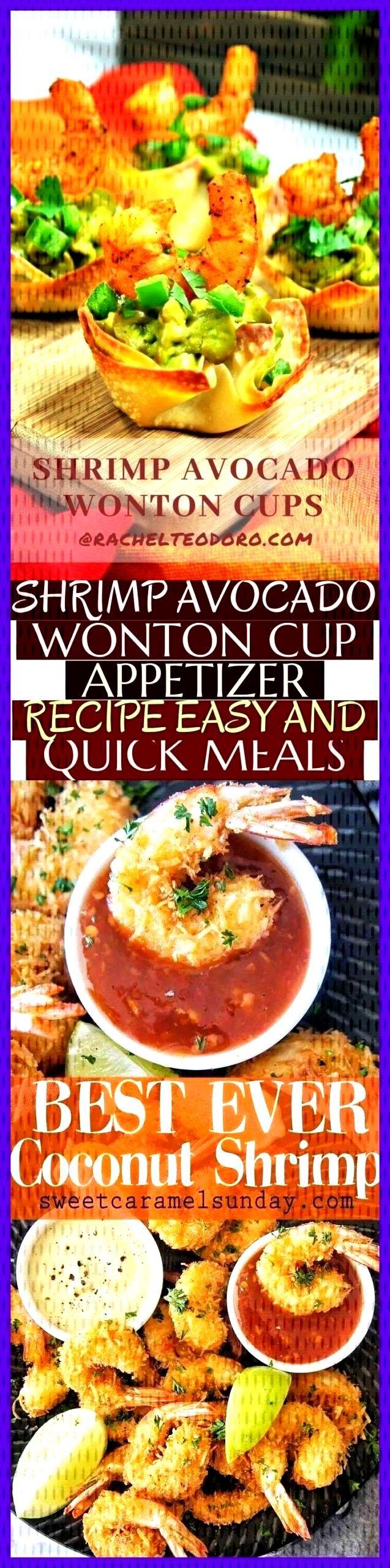 Shrimp Avocado Wonton Cup Appetizer Recipe Easy And Quick Meals - Shrimp Avocado Wonton Cup Appetiz