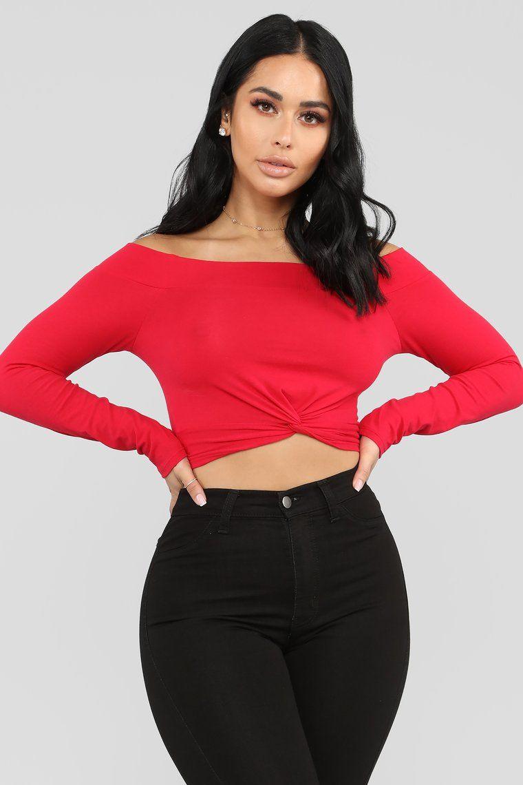 Pin on Fashion Nova Red / Burgundy