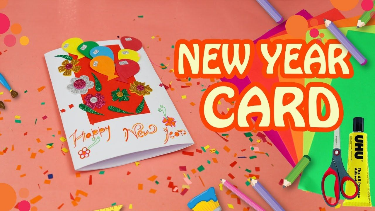 New year greeting cards how to make magic card new year card new year greeting cards how to make magic card new year card 2017 kristyandbryce Image collections