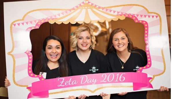 We also loved celebrating Zeta Day with our sisters from Alabama! #ZLAM #ZTA