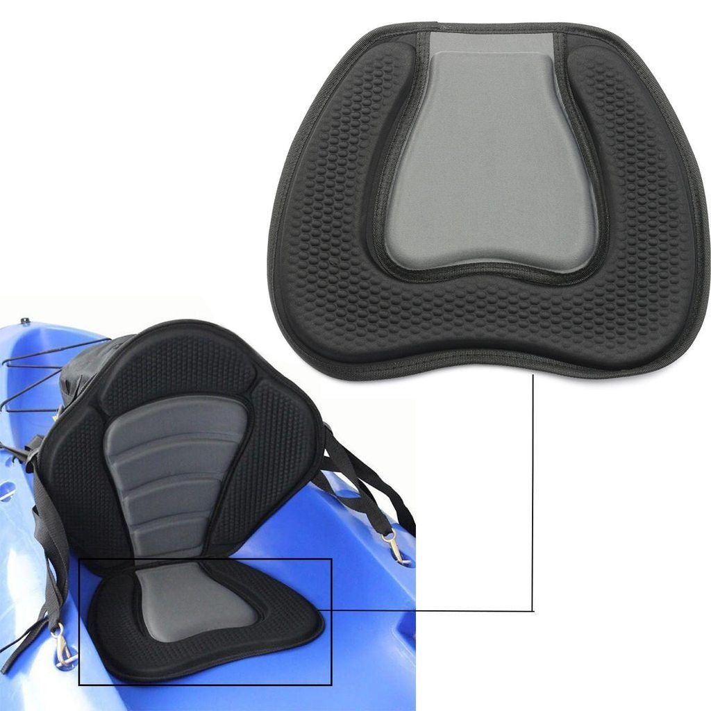 Paddling Kayak Sail Fishing Marine Canoe Parts Rowing Boat Seat Pad Back BS