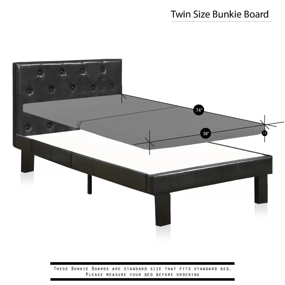 """Alwyn Home Audra 1.5"""" Split Folding Wood Bunkie Board"""