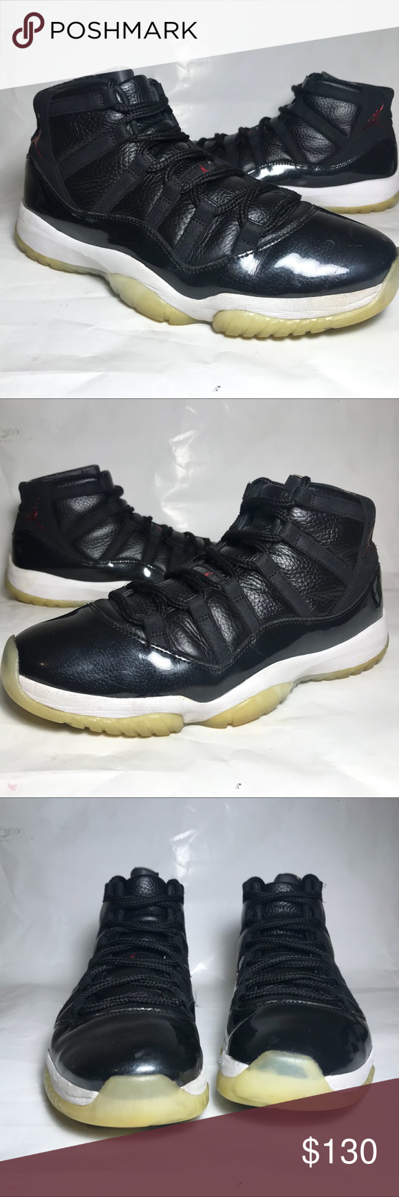 "14ed8254563e26 Air Jordan 11 ""72-10"" One of THE best shoes ever to be released!! Great Jordan  11s! The bottoms are yellowing but the sneakers have minimal creases and no  ..."