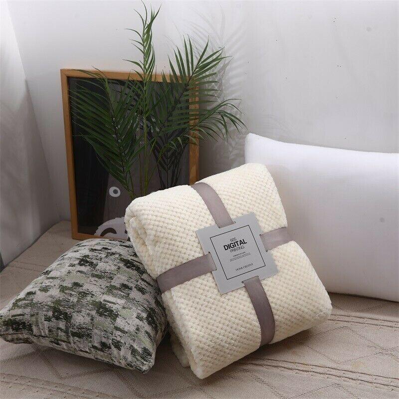 Winter Extra Large Warm Fleece Blanket Soft Sofa Tartan Throw Bed Throw Cover Sofa Throws Ideas Of Sofa Throws Sofa Throw In 2020 Sofa Throw Soft Sofa Bed Throws