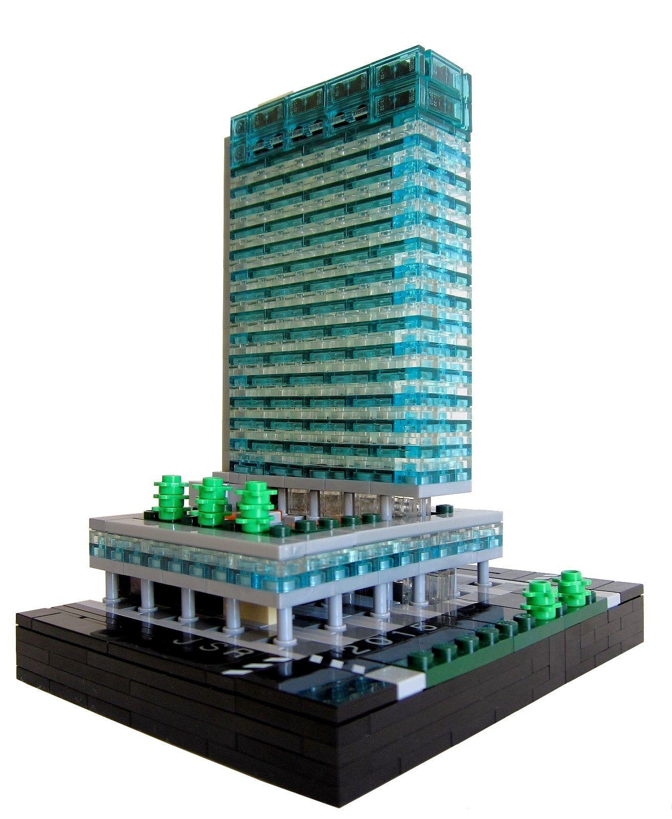 Lever House Lego skyscraper, Lego architecture, Architecture