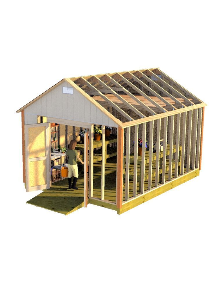 Building your wife that garden shed shed wants will be easy with