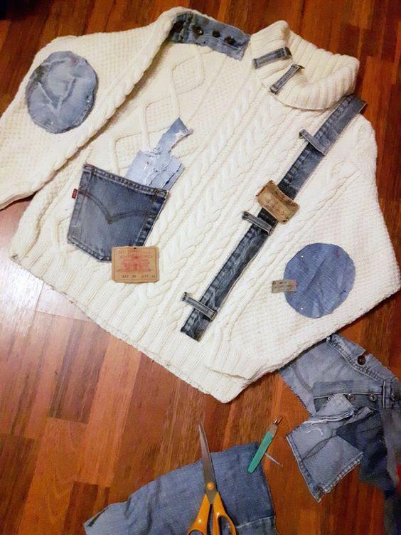 Dicas para customizar blusas de frio – + de 60 fotos, passo a passo e ideias