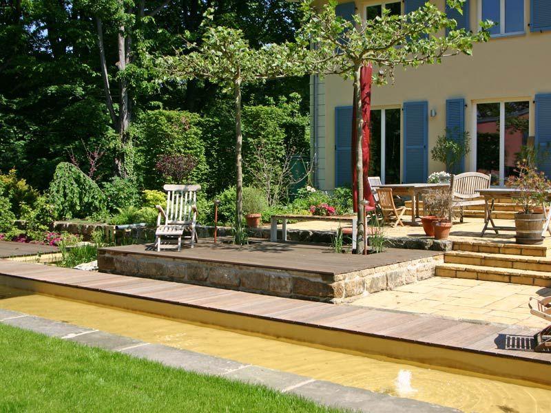 platane terrasse gartenelemente sitzpl tze terrassen b ume als schattenspender. Black Bedroom Furniture Sets. Home Design Ideas