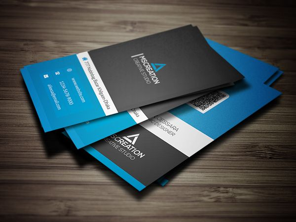 Creative vertical business card buscard p pinterest vertical creative vertical business card flashek Gallery