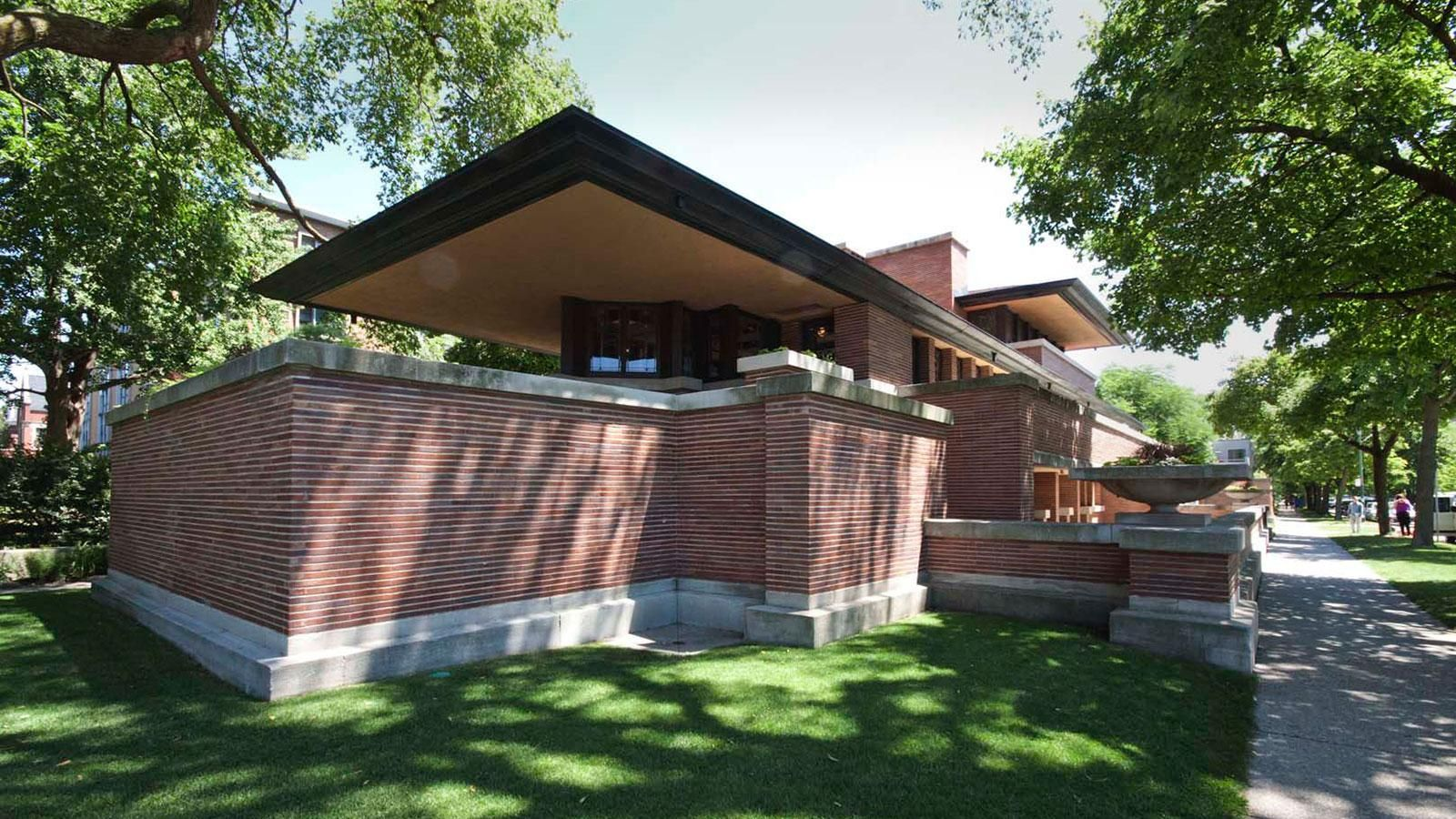 Robie House Chicago Frank Lloyd Wright Pinterest